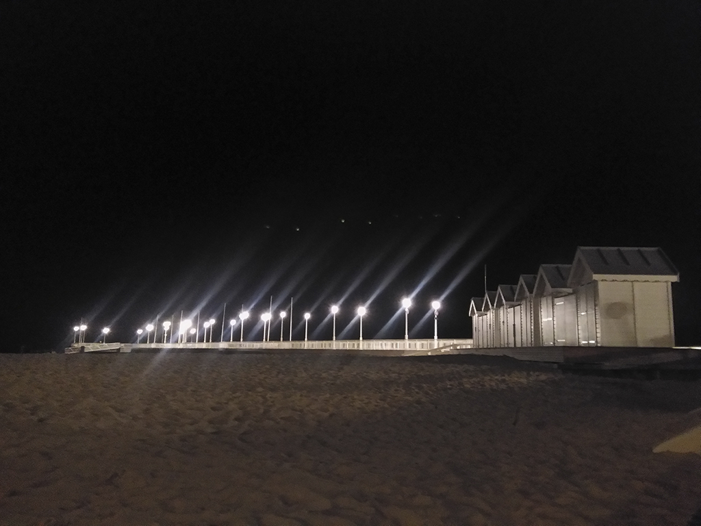 Arcachon, jetée thiers, nuit, photo armand neble, AN-GRAFIK © 2017
