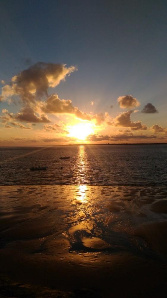 plage, pyla, pyla-sur-mer, coucher de soleil, an-grafik, photo armand neble, AN-GRAFIK © 2016